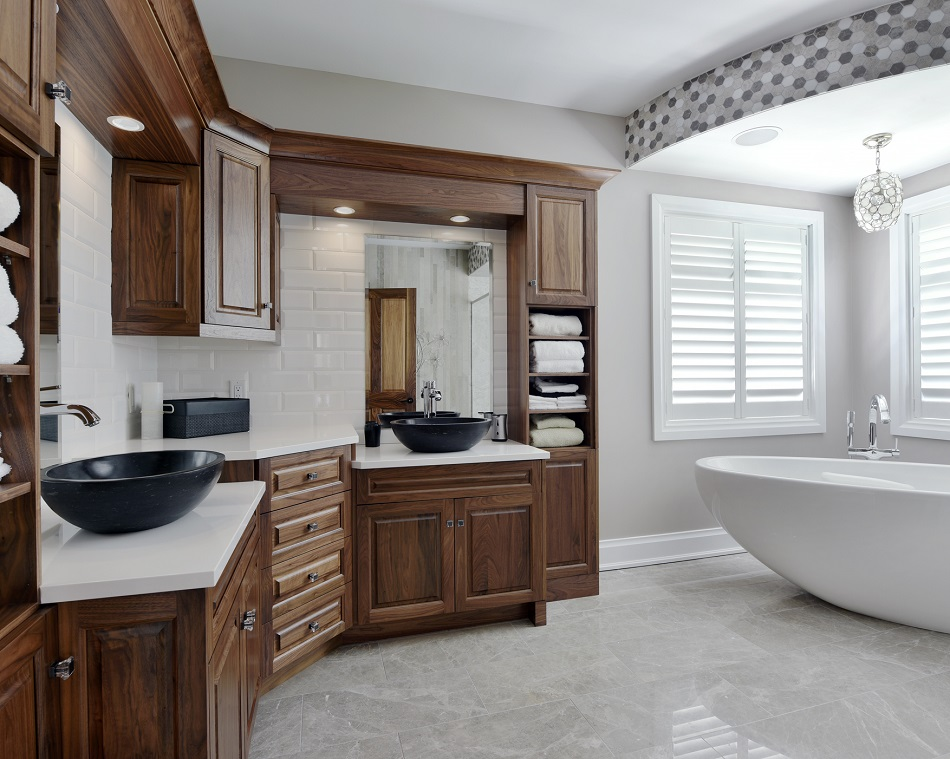 Walden's Kitchen Centre can help you design custom vanities