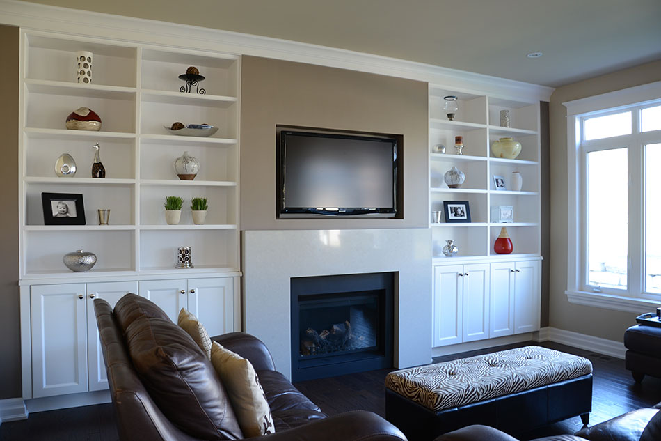 Custom media center by Deslaurier