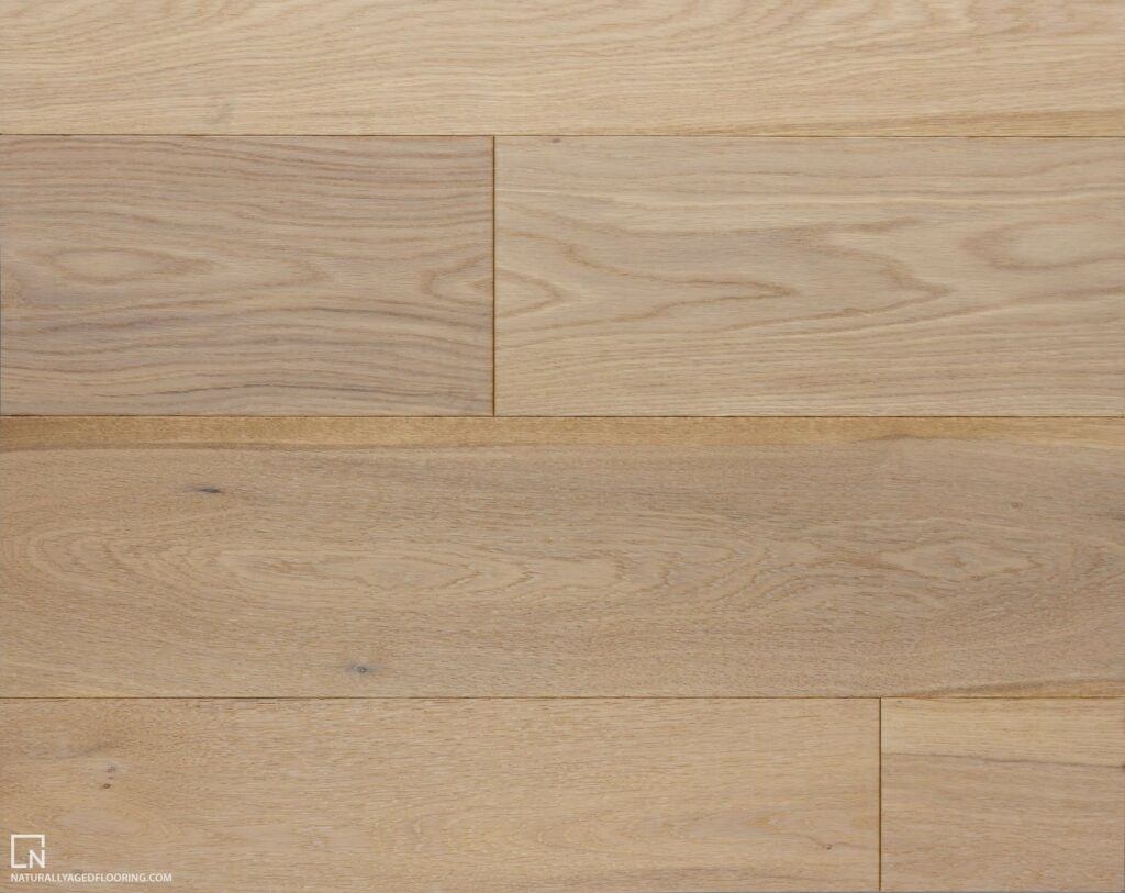 Naturally Aged Engineered Hardwood Medallion Collection - Colonial White