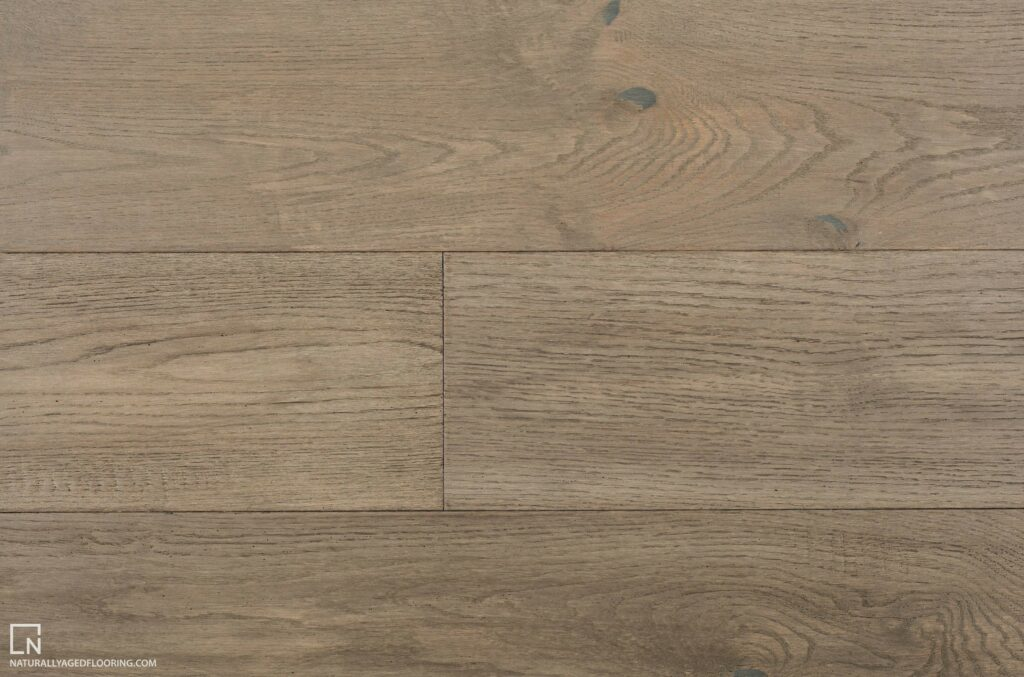 Naturally Aged Engineered Hardwood Medallion Collection - Graphite Grey
