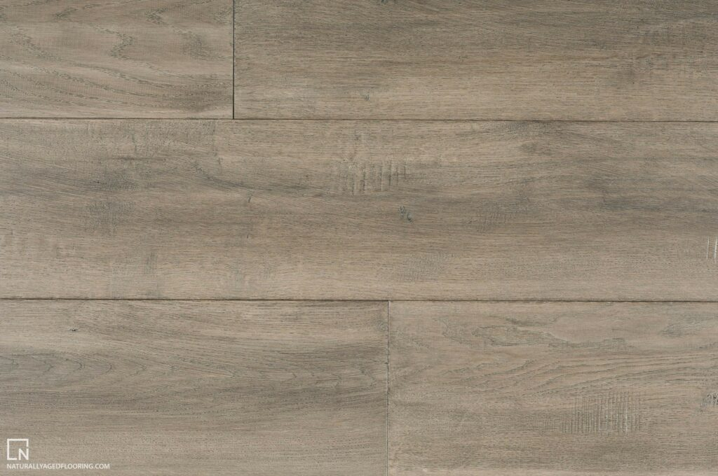 Naturally Aged Engineered Hardwood Medallion Collection - Grey Mist
