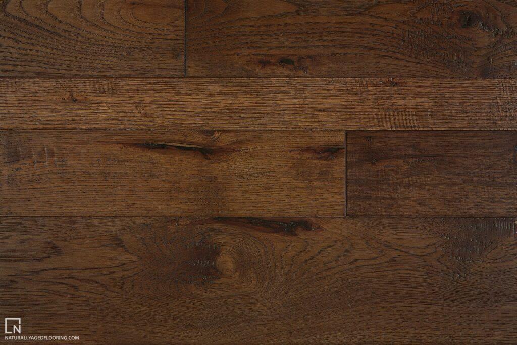 Naturally Aged Engineered Hardwood Medallion Collection - Marsala