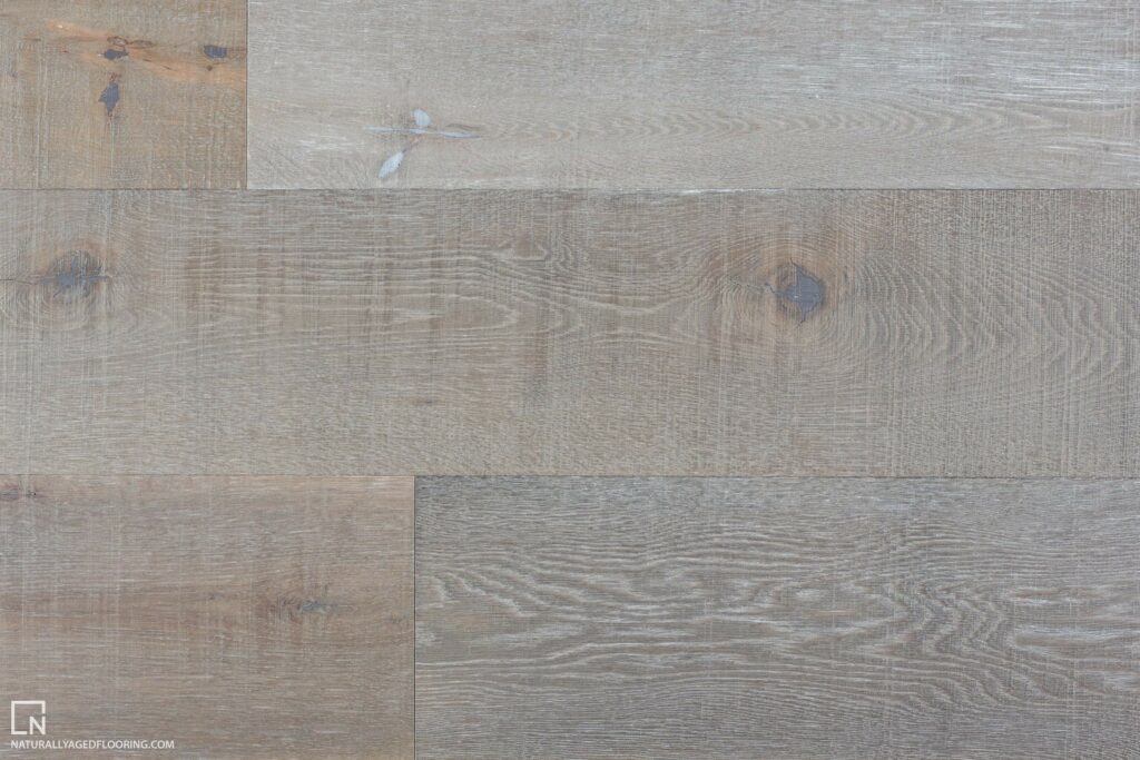 Naturally Aged Engineered Hardwood Medallion Collection - Riverbed