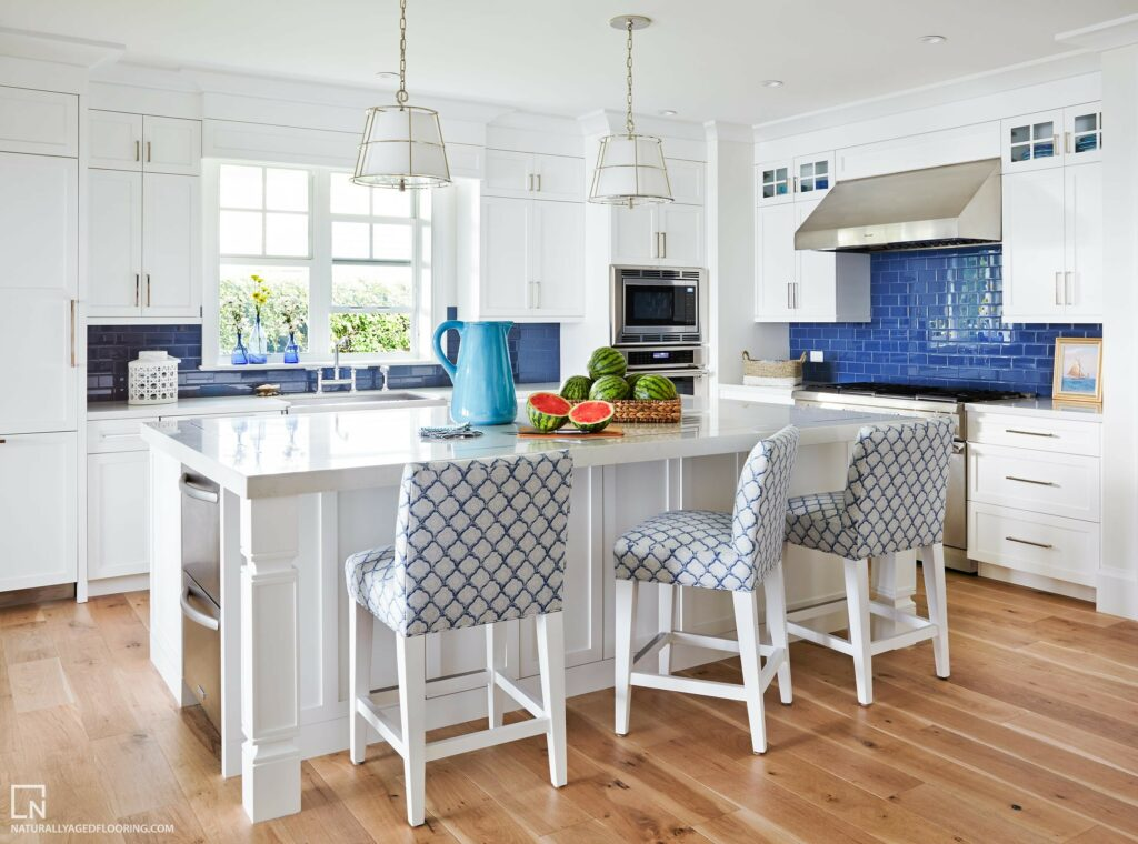 Naturally Aged Engineered Hardwood Medallion Collection - Sunset Hills Kitchen