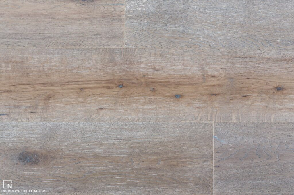 Naturally Aged Engineered Hardwood Medallion Collection - Trainhead